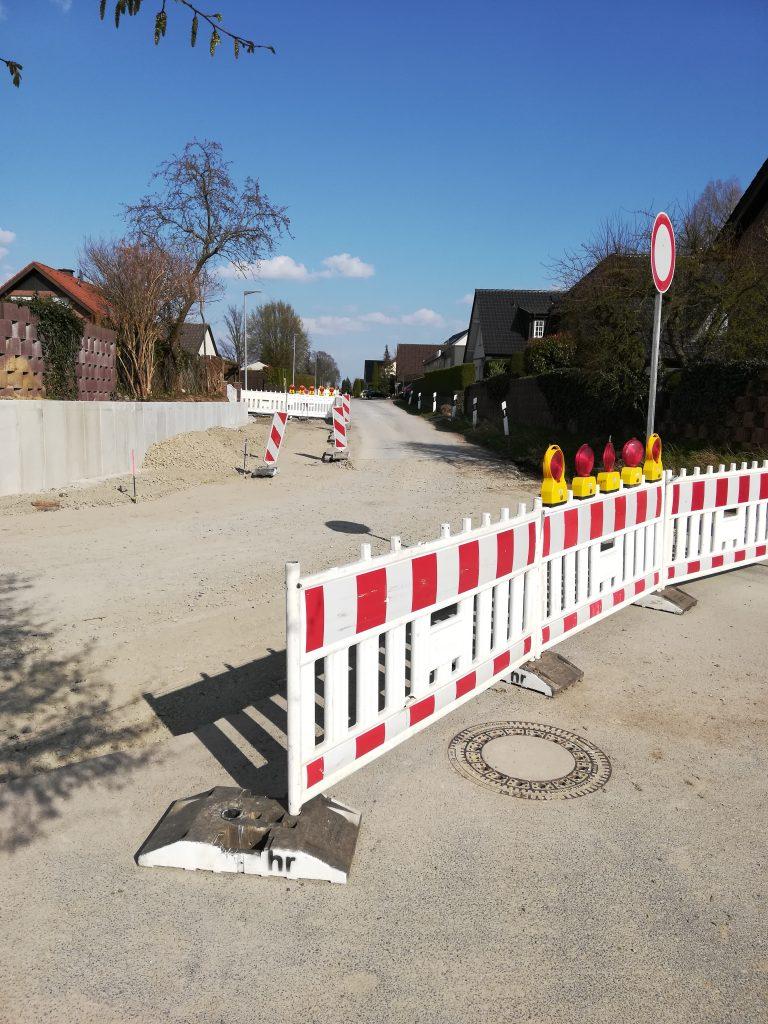 Ausbau der Straßen