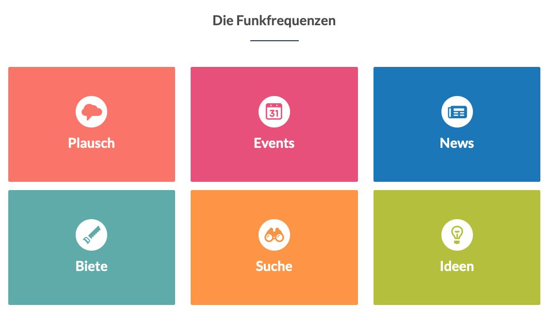 Smartphone-App Dorffunk