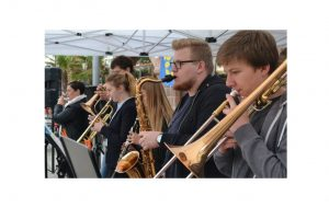 großes Repertoire der jungen Musiker/innen