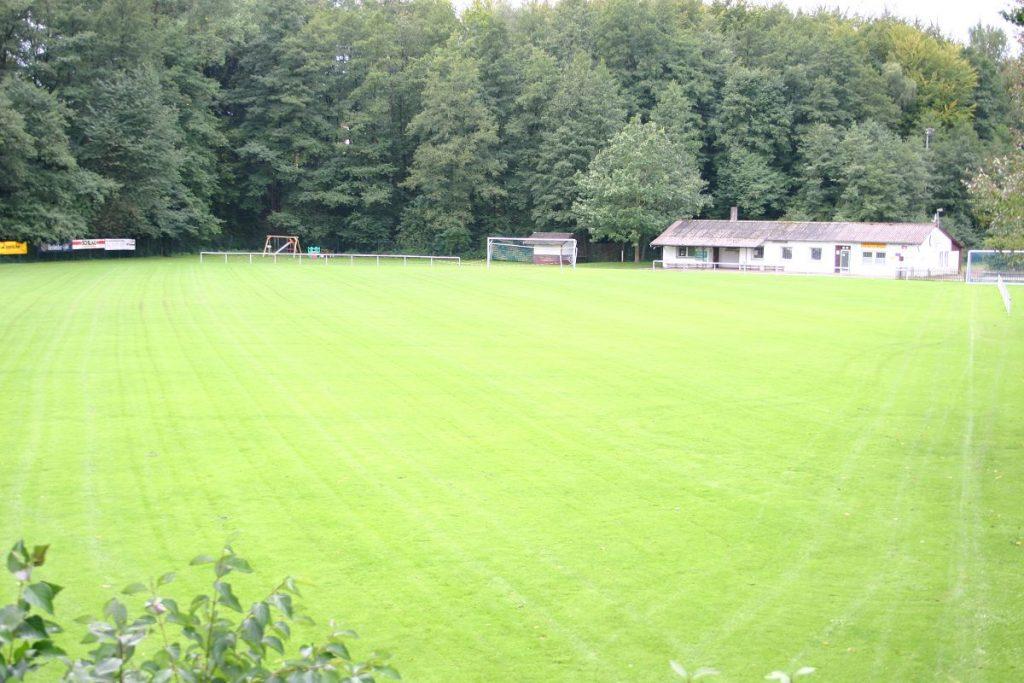 Sportplatzweihe in Voßheide