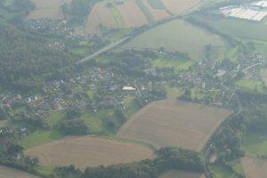 Voßheide von oben (Aug. 2009)