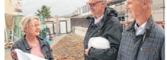 Wohnheim der Stiftung Eben- Ezer nimmt langsam Gestalt an