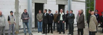 Richtfest Feuerwehrgerätehaus Lemgo-Ost