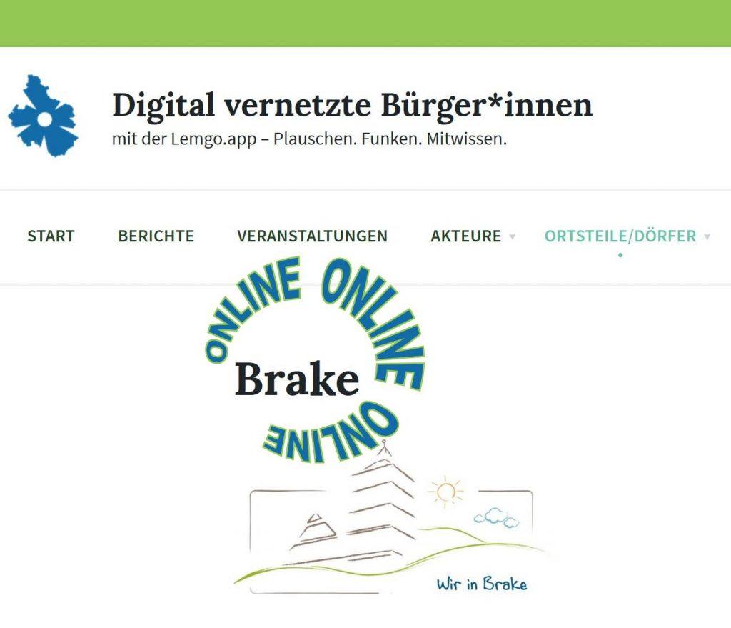 Brake ist ONLINE!