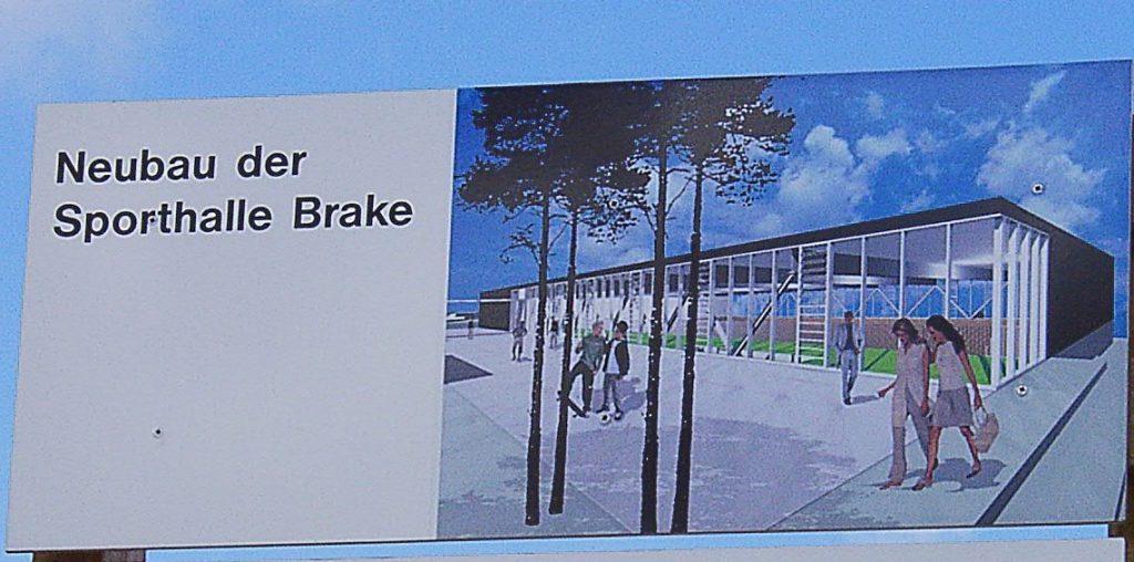 Neubau Sporthalle Brake